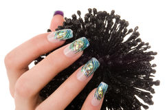 Nail art Royalty Free Stock Photos
