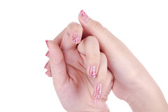 Nail-Art Stock Photography