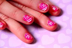 Nail Art. Royalty Free Stock Images