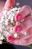 Nail Art. Royalty Free Stock Image