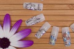 Nail art stock image