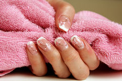 Nail art Royalty Free Stock Photo