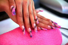 Nail art Royalty Free Stock Photography