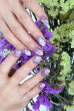 Nail art design Royalty Free Stock Photos