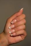 Nail art Stock Photos