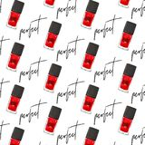 Nail art polish decoration. Vector manicure red bottles for perfect cover. Beauty fashion wrap. Woman glamour luxury lacquer cos. Metics. Magazine design vector illustration