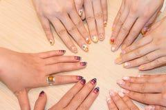 Nail arts Stock Photography