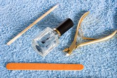 Nail care Royalty Free Stock Image