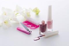 nail care Stock Photos