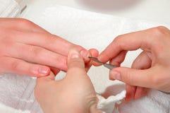 Nail care Royalty Free Stock Photos