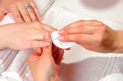 Nail care Stock Photo