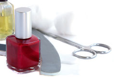 Nail Care Stock Photo