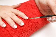 Nail care Royalty Free Stock Photo