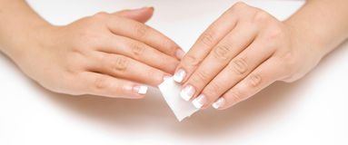Nail care Royalty Free Stock Images
