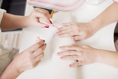Nail care Stock Image