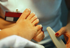 Nail Care Foot Royalty Free Stock Image