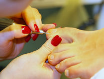 Nail Care Foot Royalty Free Stock Images