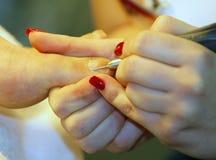 Nail Care Foot Stock Photo