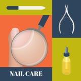 Nail care set Stock Photos