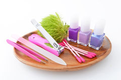Nail care tools Royalty Free Stock Photo