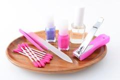 Nail care tools stock image