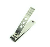 Nail clippers. A nail clippers Isolate on white blackground Stock Photography