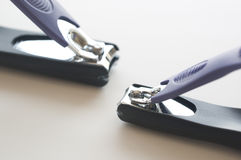 Nail clippers Royalty Free Stock Photography