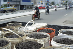 Nail Collector At Jakarta Street Stock Image