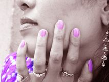Nail Color Royalty Free Stock Photo