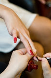 Nail Color Royalty Free Stock Photography