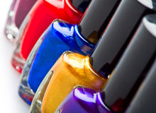 Nail enamel Stock Photography