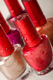 Nail enamel Royalty Free Stock Photography