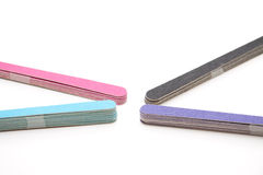 Nail files Royalty Free Stock Image