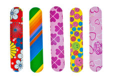 Nail files Royalty Free Stock Photography