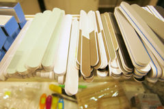Nail files Stock Photography