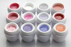 Nail gel polish royalty free stock photo