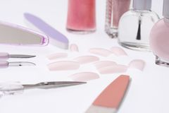 Nail goods stock images