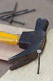 ?Nail - herramientas de funcionamiento Foto de archivo