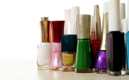 Nail lacquer collection Stock Photography