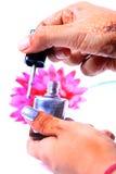 Nail paint Stock Photos