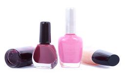 Nail polish Stock Photos