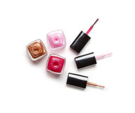 Nail polish Royalty Free Stock Images