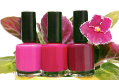 Nail Polish. Royalty Free Stock Photography