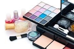Nail Polish And Make Up Stock Images