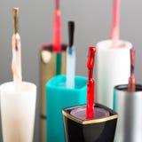 Nail polish applicators Royalty Free Stock Photos