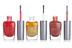Nail polish bottle Royalty Free Stock Images