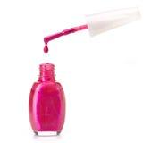 Nail polish bottle Royalty Free Stock Photography