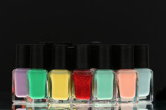 Nail Polish Royalty Free Stock Photos