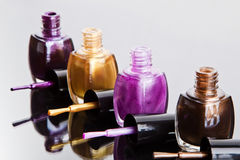 Nail polish royalty free stock photos