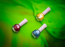 Nail polish Stock Photography
